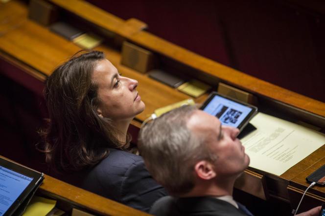 Questions au gouvernement, en presence de Cécile Duflot et Francois de Rugy, le10novembre2015.
