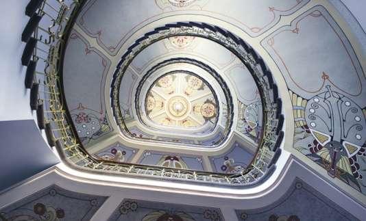 A Riga, l'Art Nouveau est partout.