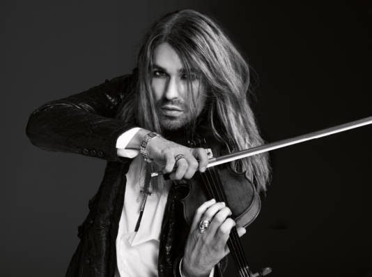 Le violoniste germano-américainDavid Garrett.