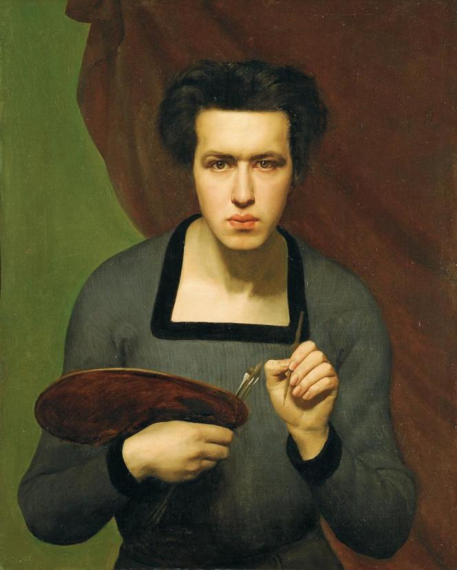 Louis Janmot, Autoportrait, 1832, huile sur toile, Lyon, musée des Beaux-Arts © Lyon MBA – Photo Alain Basset