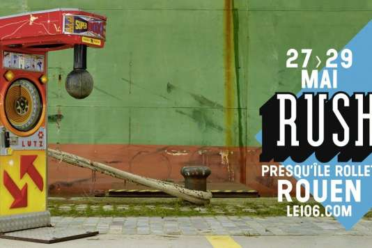 Affiche du festival Rush, à Rouen, du 27 au 29 mai.
