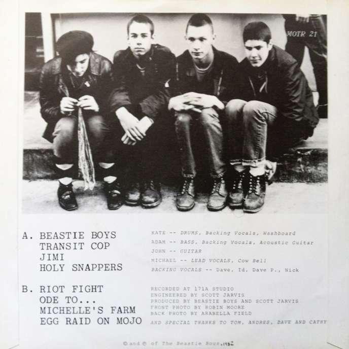 Couverture du premier album des Beastie Boys.