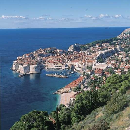 Dubrovnik et ses remparts.