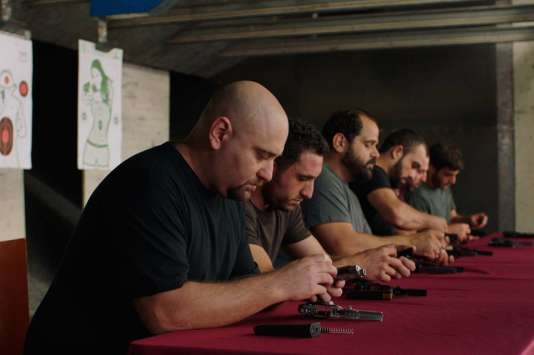 Une scène du film libanais et français deWissam Charaf,« Tombé du ciel».