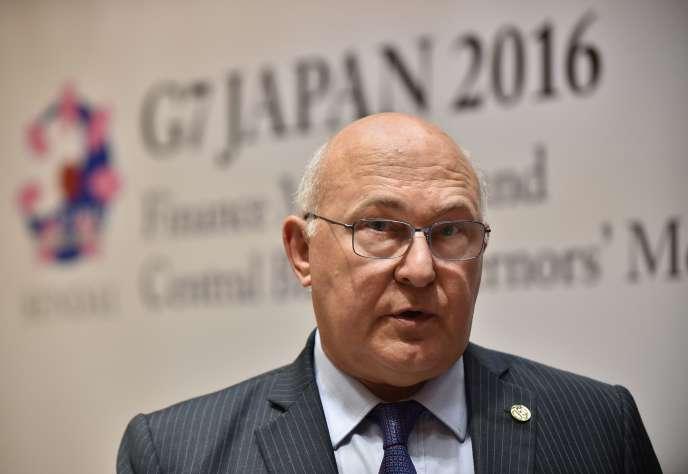 « Nous sommes tous d'accord pour reconnaître qu'une sortie du Royaume-Uni serait un choc économique, pour le pays en premier lieu, puis pour l'Europe et le monde», a déclaré Michel Sapin, le ministre français des finances, à Sendai (Japon), le 21 mai.
