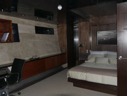 Une des cabines de l'«Abigail».