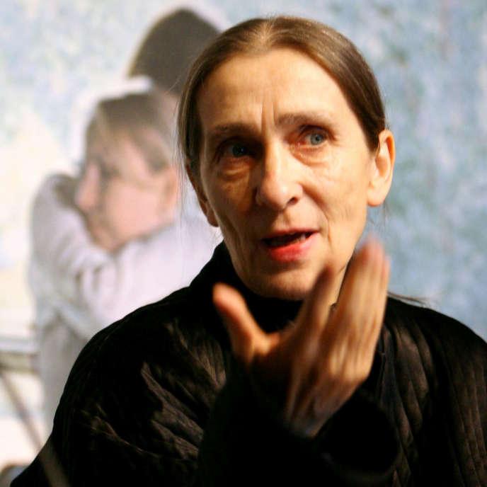 Pina Bausch en janvier 2009, quelques mois avant sa mort.
