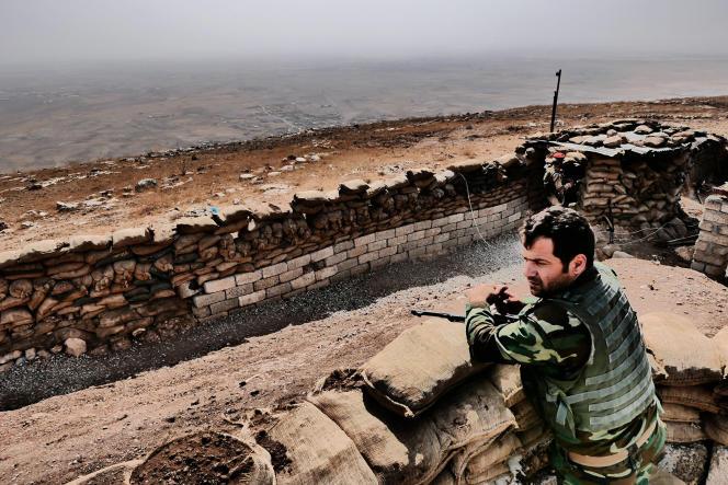 Une scène du documentaire français de Bernard-Henri Lévy,« Peshmerga».