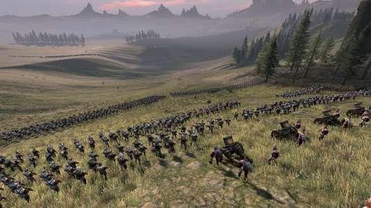 Deux armées se font face dans «Total War : Warhammer».