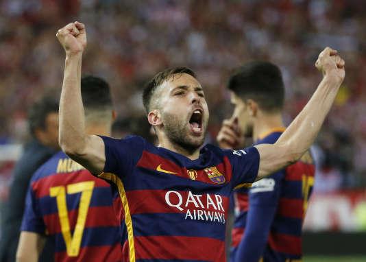 Le Barça a battu (2-0) Séville, grâce à un but de Jordi Alba et un autre de Neymar. Cette victoire permet aux Catalans d'achever leur saison sur un doublé Liga-Coupe.