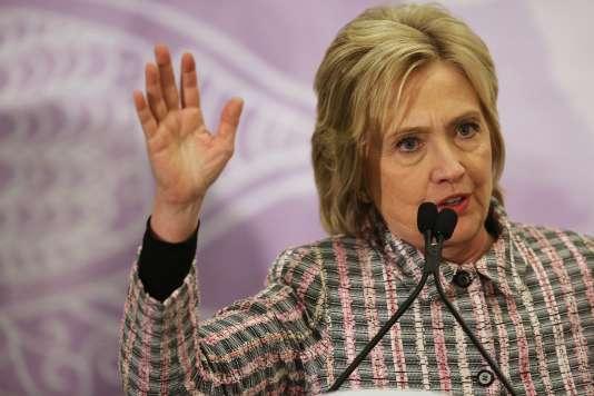 Selon l'enquête de NBC News,près de 6 Américains sur 10 disent qu'ils « n'aiment pas » ou « détestent » Hillary Clinton.