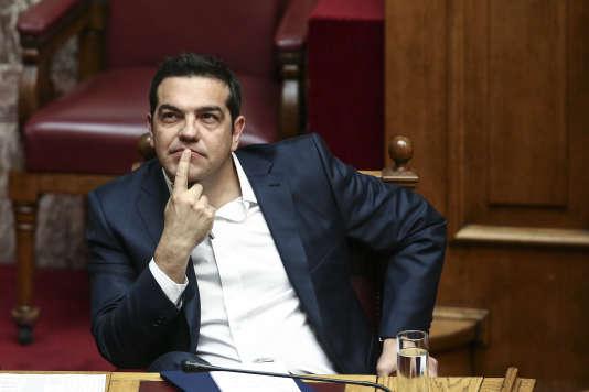 Le premier ministre grec Alexis Tsipras, à Athènes le 22 mai.