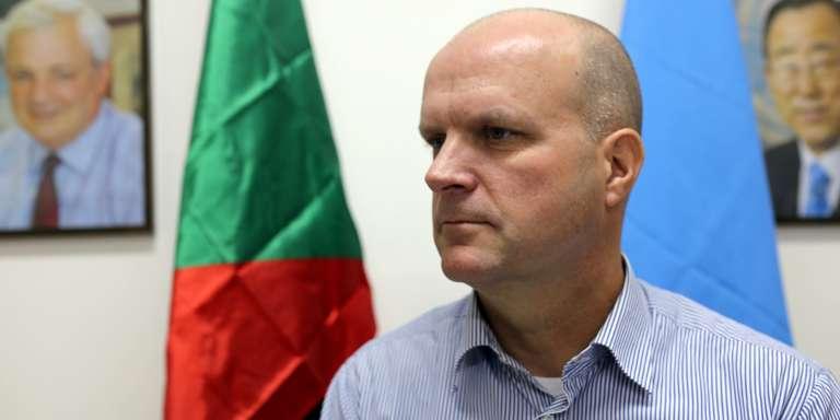 Ivo Freijsen,chef du Bureau de l'ONU pour la coordination des affaires humanitaires (Ocha).