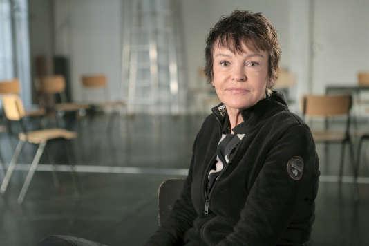 L'actrice est-allemande Katrin Sass, en 2015.