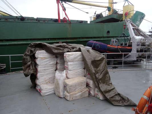 En décembre 2015, plus de deux tonnes de cocaïne étaient saisies par les douanes françaises dans un cargo amarré dans le portde Boulogne-sur-Mer (Pas-de-Calais).