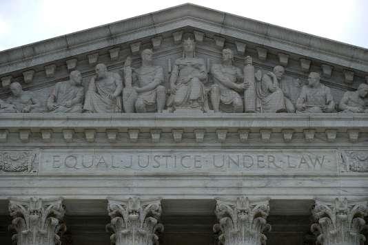 «Des entreprises françaises ont été sévèrement sanctionnées par la justice américaine ces dernières années. Elles ont dû s'acquitter de sommes se chiffrant en centaines de millions de dollars» (Photo: Court suprême des Etats-Unis, à Washington).