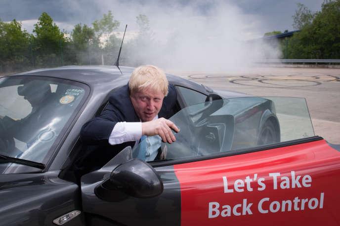 Le slogan phare pro-« Brexit » se résume à deux mots : « Take Control »(« Reprenons le contrôle de notre pays »).