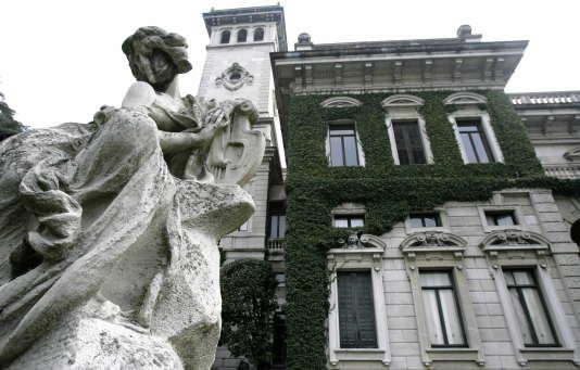 La Villa Erba, dans laquelle a grandi Luchino Visconti.