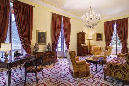 Une des suites de la Villa d'Este.