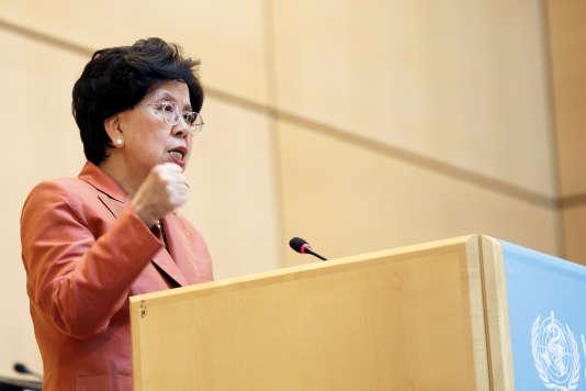 Discours d'ouverture deMargaret Chan à l'Assemblée annuelle de l'OMS, lundi 23 mai.