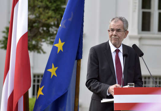 Le nouveau président autrichien, Alexander Van der Bellen, le 23 mai à Vienne.
