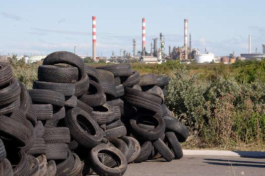 La raffinerie de Fos-sur-Mer était bloquée depuis la nuit du lundi 23 mai mai par des militants CGT.