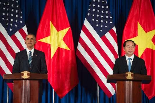 L'embargo sur les ventes d'armes américaines au Vietnam était l'un des derniers vestiges de la guerre entre les deux pays, qui s'est achevée en 1975.
