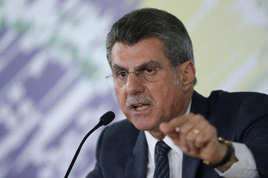 Le ministre de la planification brésilien, Romero Juca, le 23 mai 2016.
