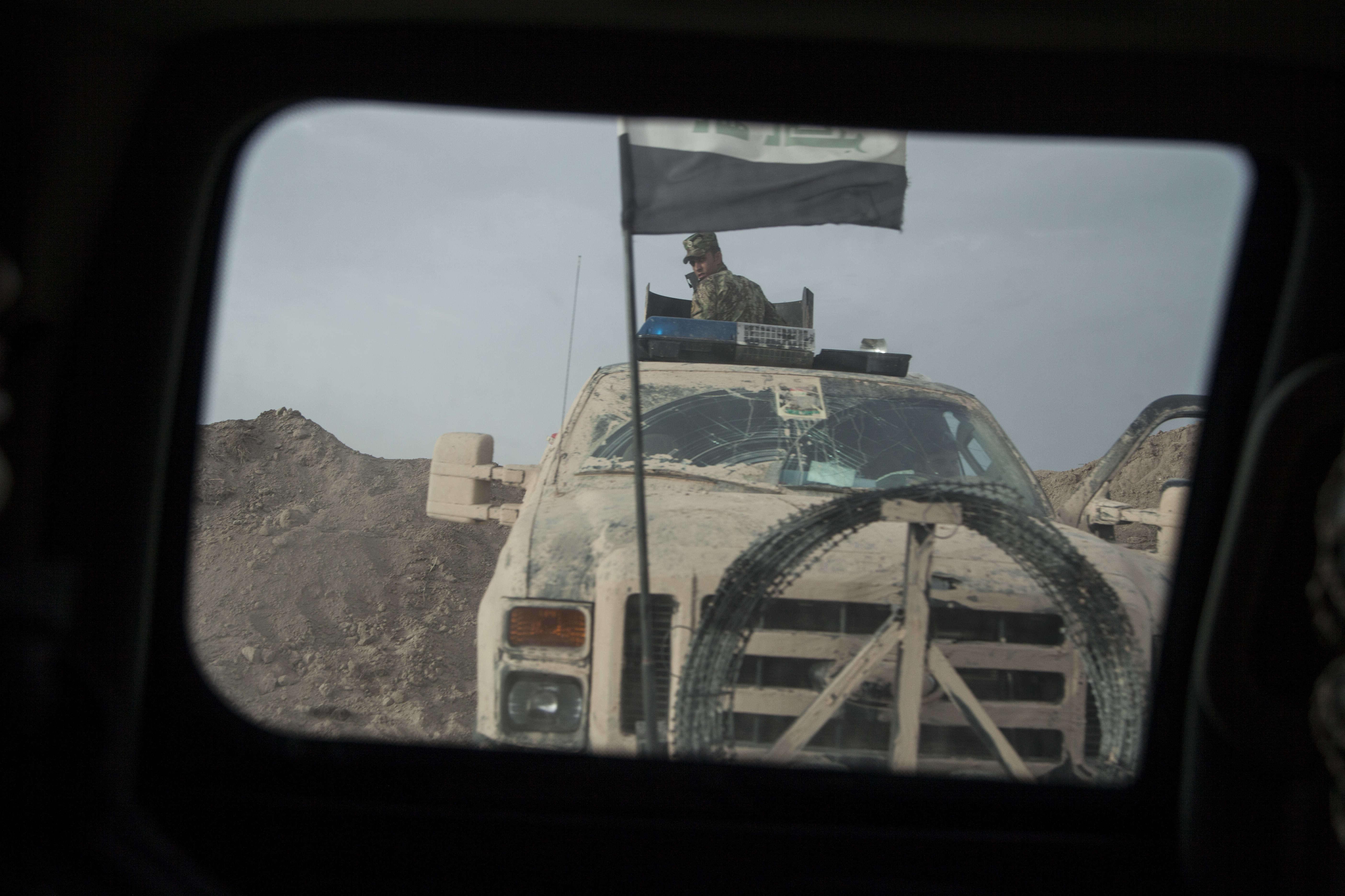 Pendant deux ans et demi, pour défendre leur ville,2 000 combattants sunnites ont résisté aux assauts de l'organisation Etat islamique (EI). Al-Amiriyah Fallouja compte 30 000 habitants.
