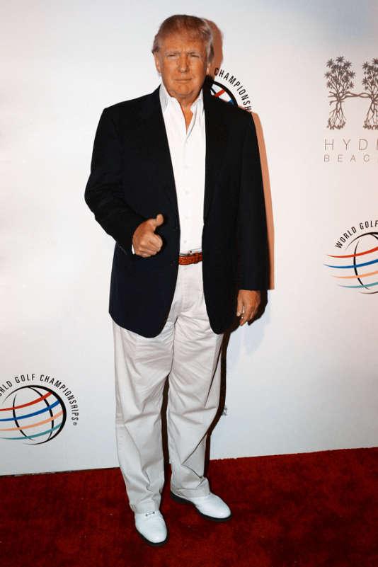 L'homme d'affaires à l'ouverture d'un tournoi de golf, le 4 mars 2014, à Miami.