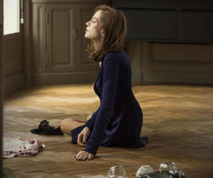 Isabelle Huppert dans « Elle », de Paul Verhoeven.