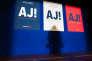 Pendant un meeting de campagne d'Alain Juppé, à Caen, le 16 mars.