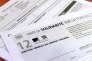 Déclaration de l'impôt de solidarité sur la fortune (ISF) pour l'année 2012.