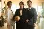 Mads Mikkelsen,Soren Malling et Nikolas Lie Kaas dans le film danois d'Anders Thomas Jensen, « Men and Chicken» («Mænd & hons»).