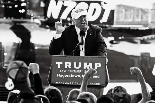 Donald Trump en campagne dans le Maryland, le 25 avril 2016.