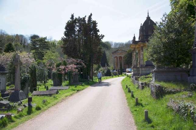 Le cimetière Arnos Vale.