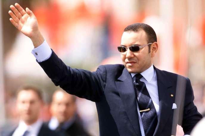 Mohammed VI,dans les premières années de son règne, en mars 2002.