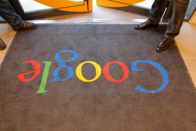 Le siège de Google en France.