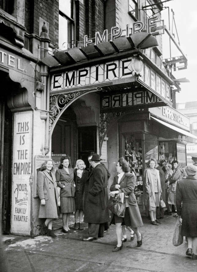 L'Empire Theatre, en 1947.