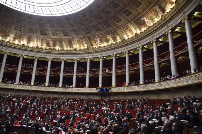 L'Assemblée nationale lors des questions au gouvernement, mardi 24 mai.