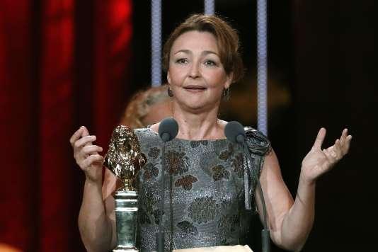 Catherine Frot , élue meilleure actrice pour son rôle dans« Fleur de Cactus».