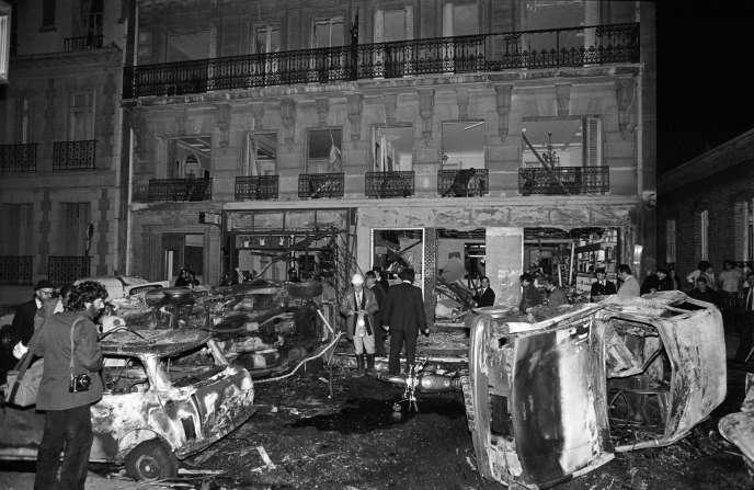 Attentat de la rue Copernic, le vendredi 3 octobre 1980.