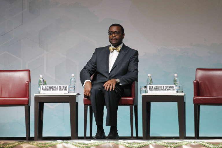 Le Nigérian Akinwumi Adesina, président de la Banque africaine de développement.