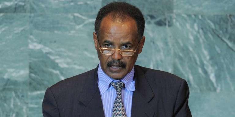 Le président de l'Erythrée, Issayas Afeworki, s'exprime devant l'Assemblée générale des Nations unies, à New York, le 23 septembre 2011.