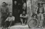 «The Family, Luzzara (The Lusettis)», photographie dePaul Strand en 1953.