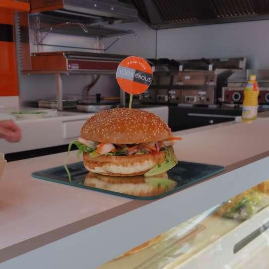 Le Boréal, burger vainqueur du Campus Cook.
