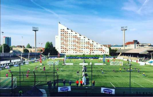 Le Stade Bauer en mai.