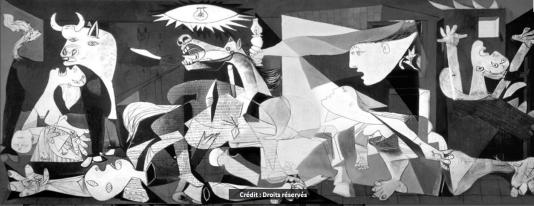 Guernica, Pablo Picasso droits réservés