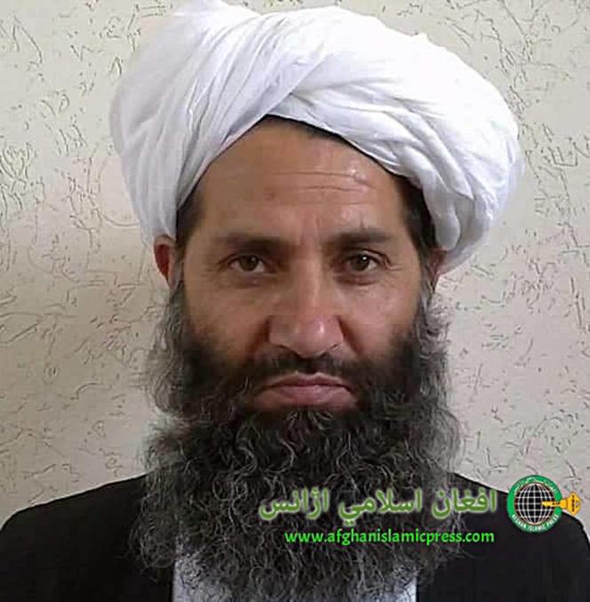 Le nouveau chef des combattants talibans, le mollah Haibatullah Akhundzada.