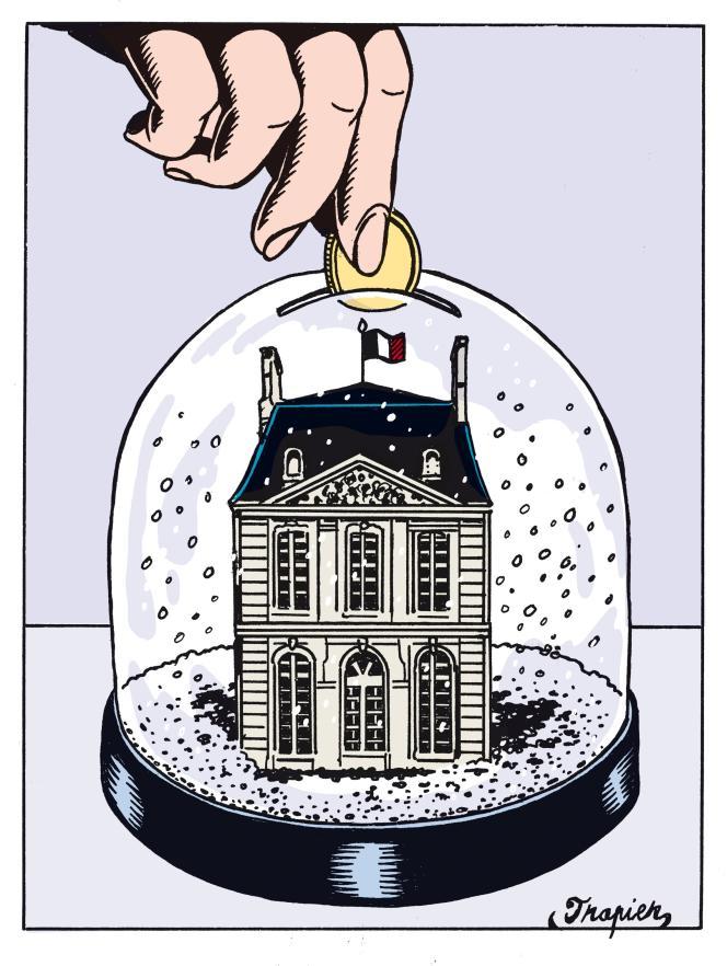 Le quai d'Orsay ne reçoit plus un centime pour l'entretien de ses bâtiments ni pour acheter de nouveaux édifices.